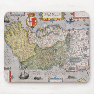Map of Ireland Mouse Mat