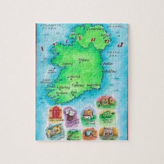 Map of Ireland Puzzle