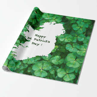 Map of Ireland Wrapping Paper