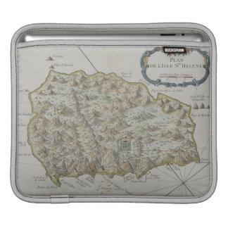 Map of Island of St. Helena iPad Sleeve