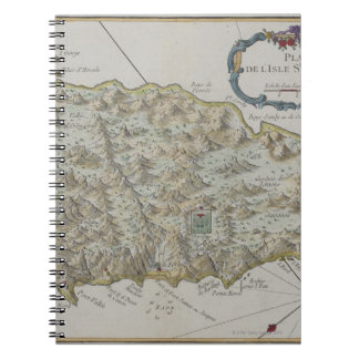 Map of Island of St. Helena Notebooks