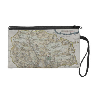 Map of Island of St. Helena Wristlet