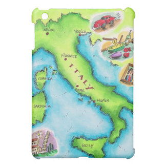 Map of Italy 2 iPad Mini Case