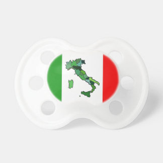 Map of Italy and Italian Flag Dummy
