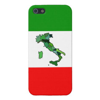 Map of Italy and Italian Flag iPhone 5/5S Cover