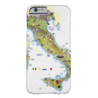 Map of Italy Barely There iPhone 6 Case