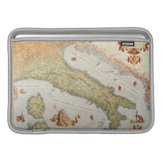 Map of Italy in 1500 MacBook Sleeve