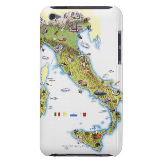 Map of Italy iPod Case-Mate Case