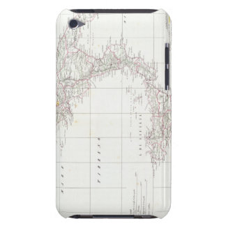 Map of Italy iPod Touch Case-Mate Case
