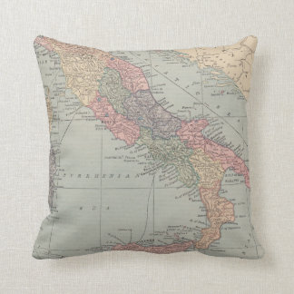 Map of Italy Pillow