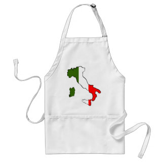 Map of Italy Standard Apron