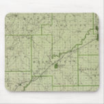 Map of Jackson County Mouse Pads