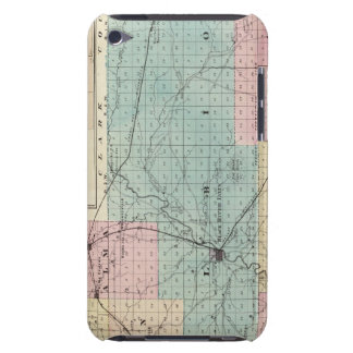 Map of Jackson County, Plat of Friendship iPod Touch Case-Mate Case