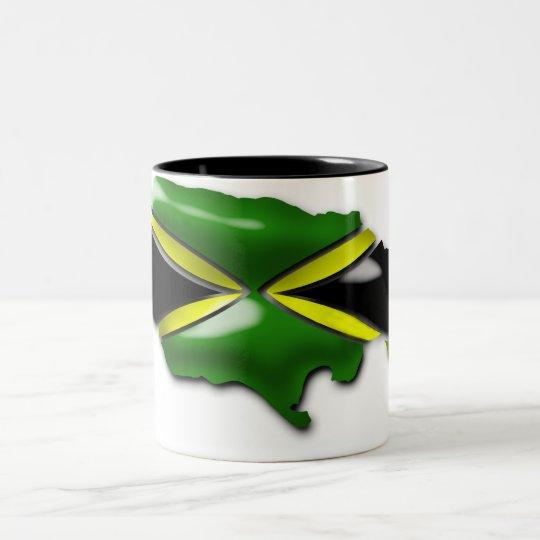 Map of Jamaica Mug