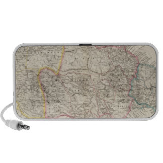 Map of Jamaica Travel Speaker