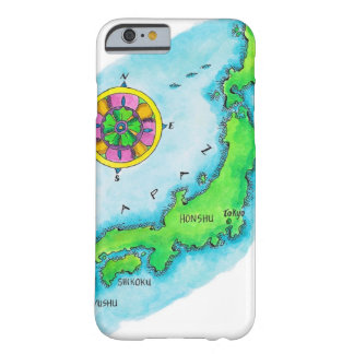 Map of Japan 2 Barely There iPhone 6 Case