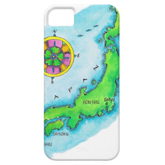 Map of Japan 2 iPhone 5 Case