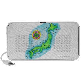 Map of Japan 2 Travelling Speakers