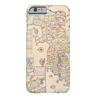 Map of Japan 3 Barely There iPhone 6 Case