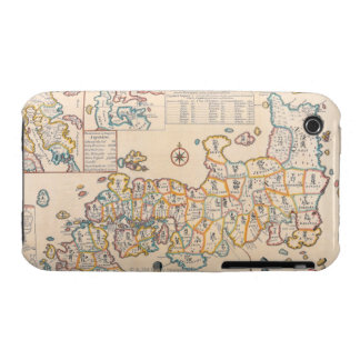 Map of Japan 3 iPhone 3 Case-Mate Cases