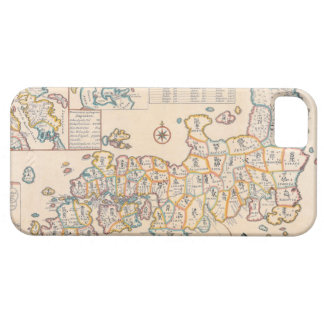 Map of Japan 3 iPhone 5 Cover