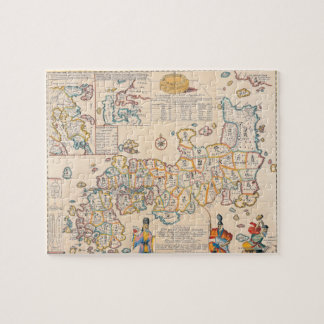 Map of Japan 3 Jigsaw Puzzle