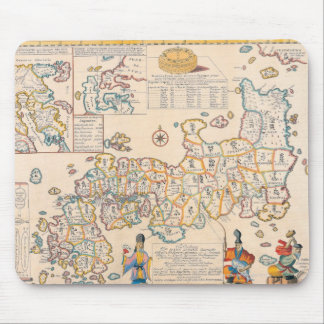 Map of Japan 3 Mouse Pad