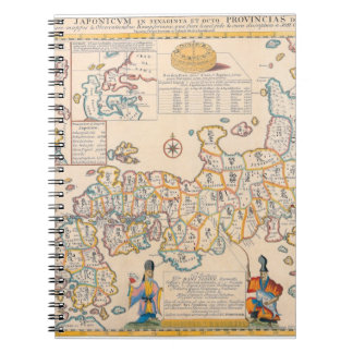 Map of Japan 3 Notebook