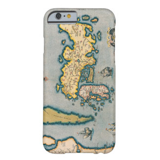 Map of Japan 5 Barely There iPhone 6 Case
