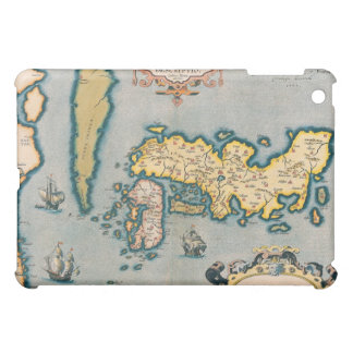 Map of Japan 5 Cover For The iPad Mini