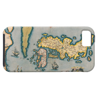 Map of Japan 5 iPhone 5 Cases