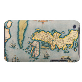 Map of Japan 5 iPod Touch Case-Mate Case