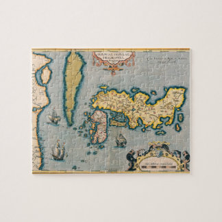 Map of Japan 5 Jigsaw Puzzle