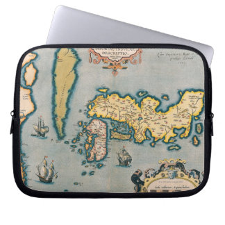 Map of Japan 5 Laptop Sleeve