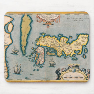 Map of Japan 5 Mouse Pad