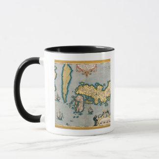 Map of Japan 5 Mug