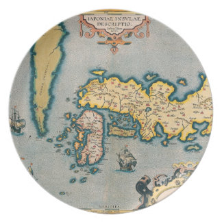 Map of Japan 5 Plate