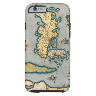 Map of Japan 5 Tough iPhone 6 Case