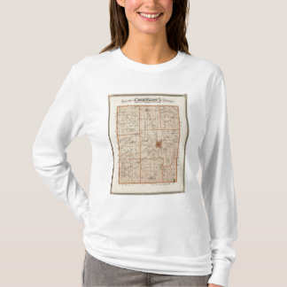 Map of Johnson County T-Shirt