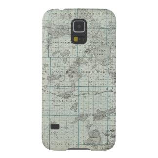 Map of Kandiyohi County, Minnesota Galaxy S5 Case