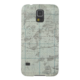 Map of Kandiyohi County, Minnesota Galaxy S5 Cases