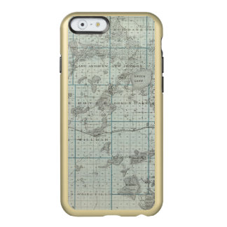 Map of Kandiyohi County, Minnesota Incipio Feather® Shine iPhone 6 Case