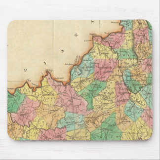 Map Of Kentucky Mouse Mat