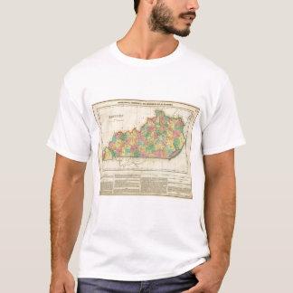 Map Of Kentucky T-Shirt