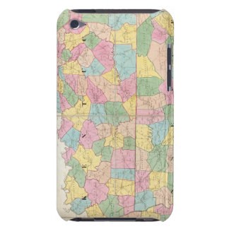 Map of Kentucky & Tennessee iPod Touch Cover