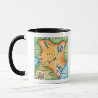 Map of Kenya Mug