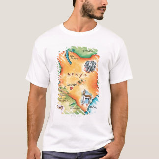 Map of Kenya T-Shirt