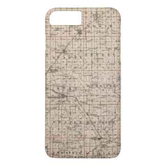 Map of Knox County iPhone 7 Plus Case