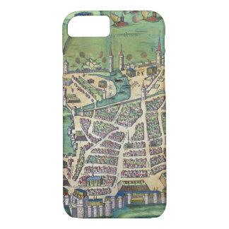 Map of La Rochelle, from 'Civitates Orbis Terrarum iPhone 8/7 Case