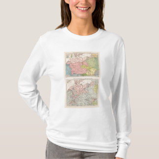 Map of Languages and Religions in Germany T-Shirt